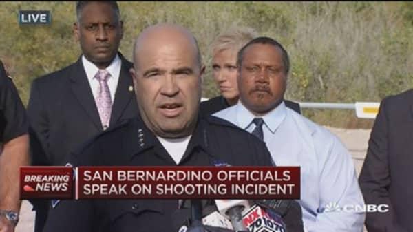 Upwards of 14 dead, 14 injured: San Bernardino police chief