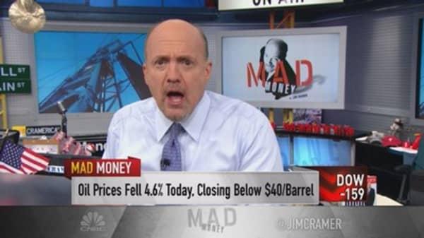 Cramer: Saudi Arabia could crush oil next year
