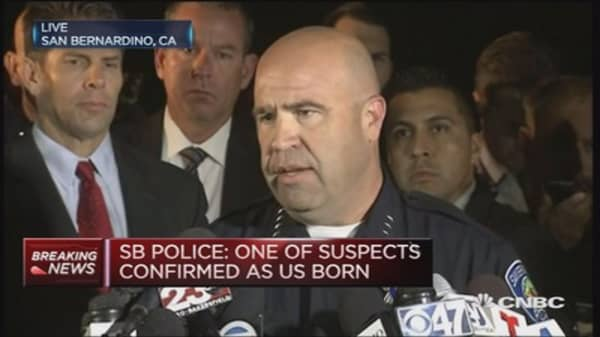 San Bernardino shooting suspects named