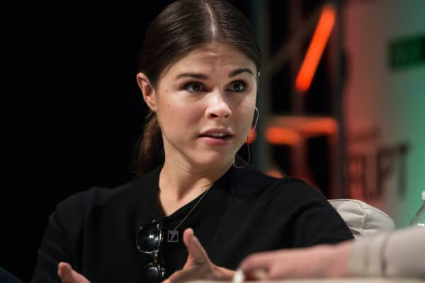 Emily Weiss, founder and chief executive officer of Glossier