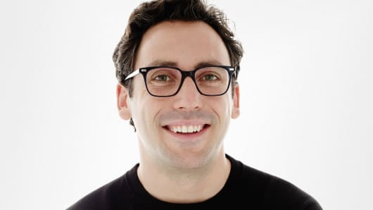 Neal Blumental, co-founder and co-CEO of Warby Parker