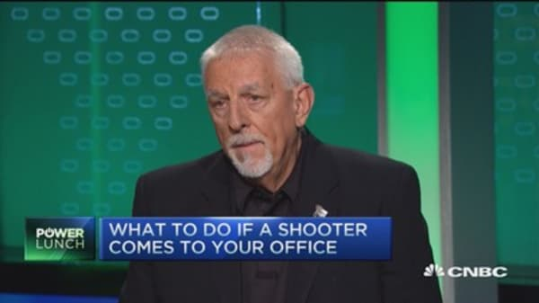 What to do if a shooter comes into your office