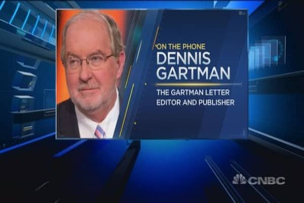 This is the best gold trade: Gartman