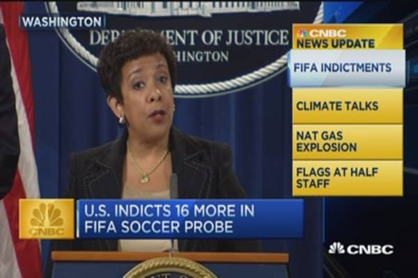 CNBC update: FIFA indictments