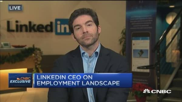 Linkedin CEO: The most relevant application we've launched to date
