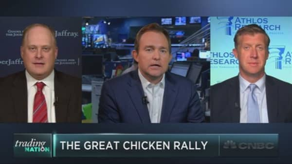 The great chicken rally