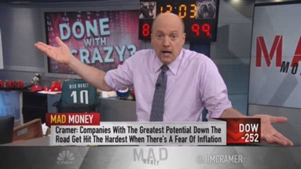 Cramer: It's too crazy to buy stocks now