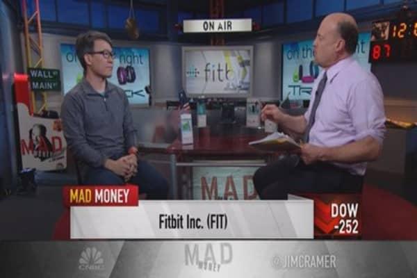 Cramer: A rare bright light stock in a difficult market