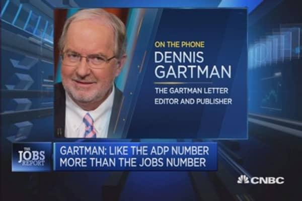 Wiser to be less bullish: Gartman