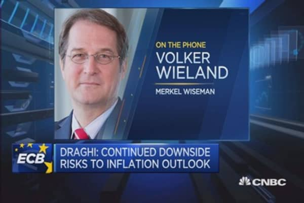Case for more ECB easing overplayed: Wieland