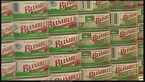Chicken of the Sea and Bumble Bee Foods ditch merger