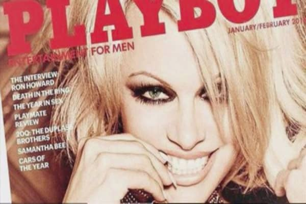 Pamela Anderson to be on Playboy's last new cover