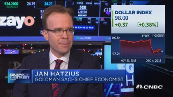 Not surprised by jobs number: Hatzius