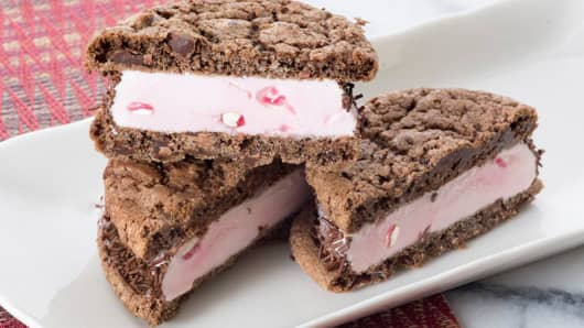 Graeter's Ice Cream sandwich