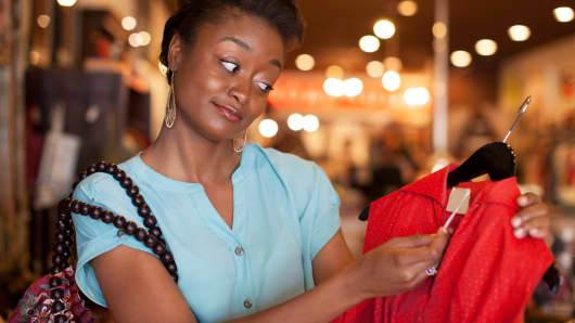 Shopper price tag
