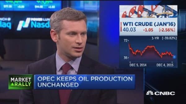 Why was oil crushed if no one expected a cut from OPEC?