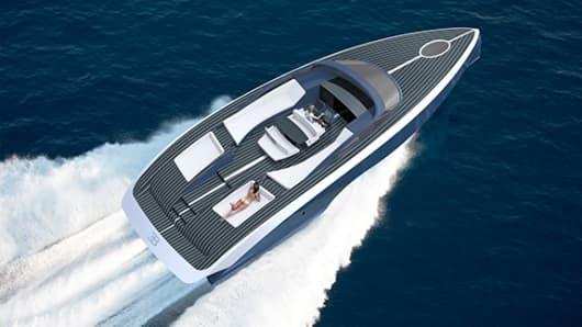 Bugatti's new Niniette boat.