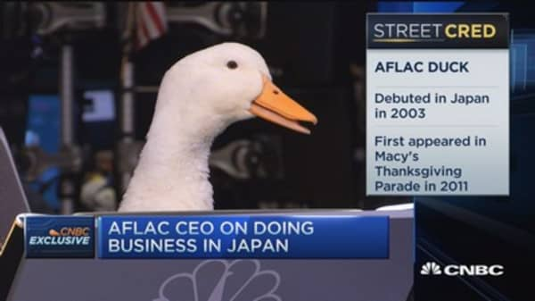 Aflac CEO: A stellar year and Japan has helped