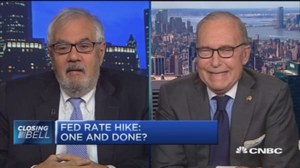 Fed hike should be one and done: Barney Frank