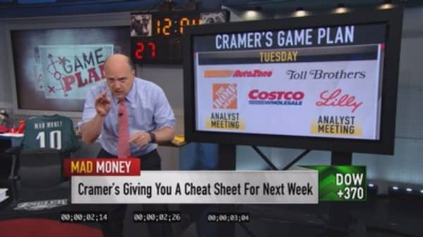 Cramer's game plan: Bring it on, Fed