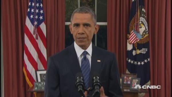 Pres. Obama: No one on no-fly list should be able to buy a gun