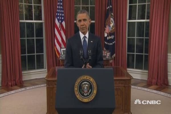 Pres. Obama: We will destroy anyone who tries to harm us
