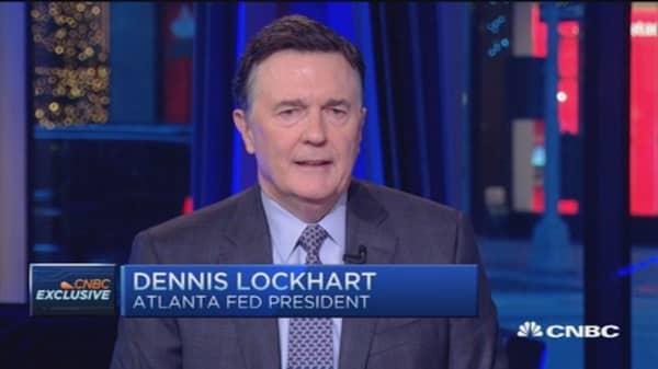 Expect gradual path: Lockhart