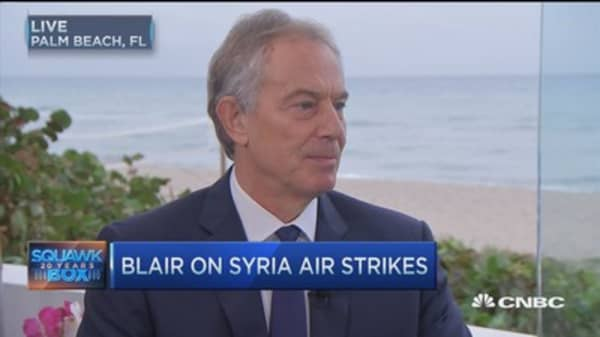 Fmr. UK PM Tony Blair: Long-term comprehensive strategy