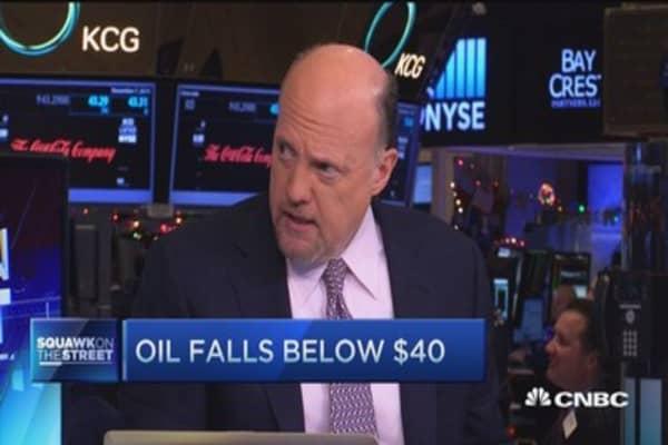 Cramer: Oil will be 'lower for much longer'