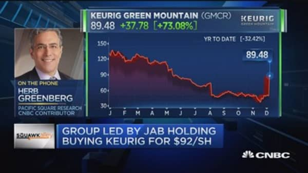 Why Keurig is being bought at such a high price: Pro