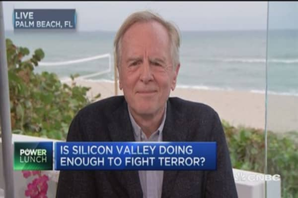Tech should give data access to government: Fmr. Apple CEO Sculley