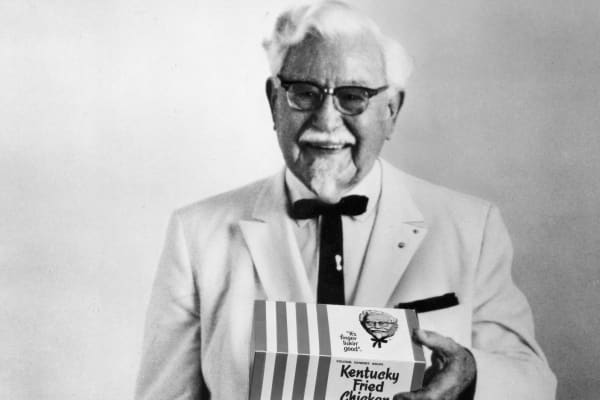 KFC Original Colonel Sanders circa 1966