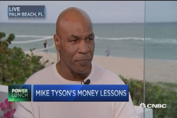 Mike Tyson: From hundreds of millions to bankruptcy