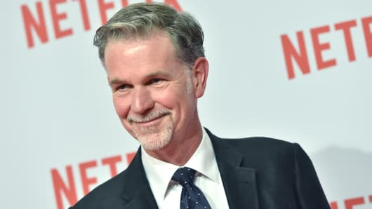 Reed Hastings, Netflix