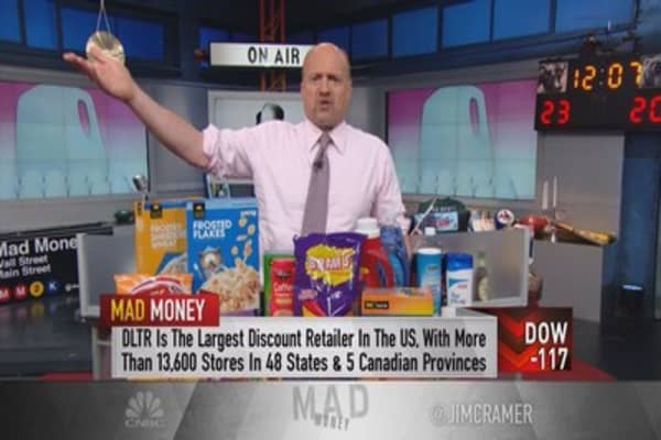 Cramer: Only place in retail with upside left