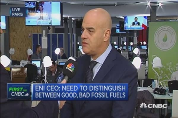 Must look at long term with energy: Eni CEO