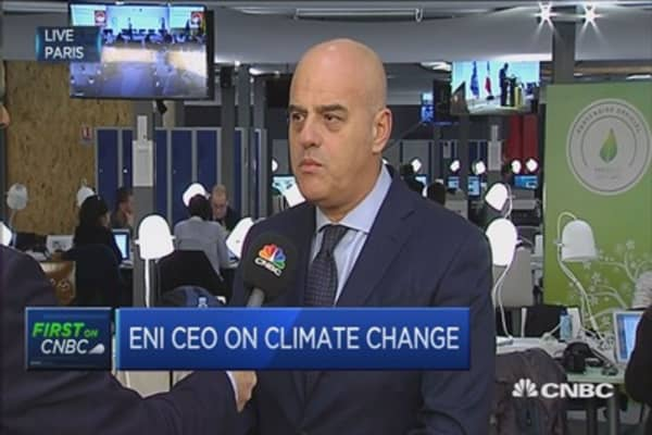 Work at COP21 not finished yet: Eni CEO