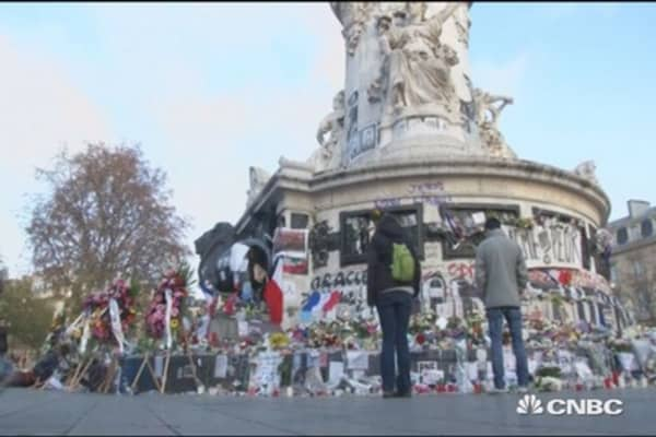 Air France numbers hurt by terror attack