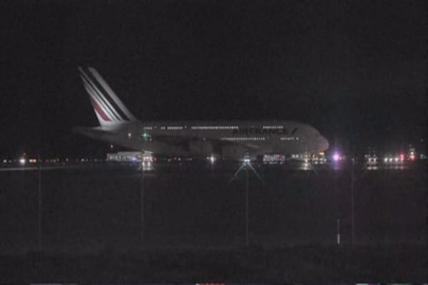Air France flight to Paris diverted after bomb threat