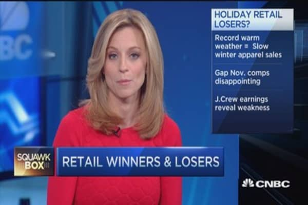 Retail winners and losers