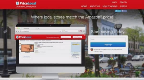 This web tool promises 'Amazon prices' at local stores