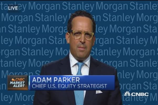 Overweight equities, thanks to the consumer: Morgan Stanley's Parker