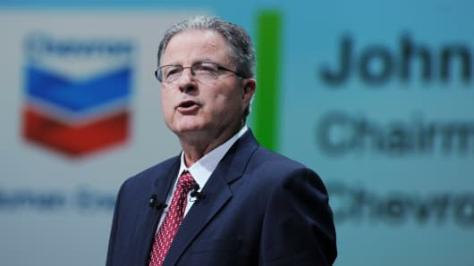 Chevron names Wirth chairman and CEO as Watson retires