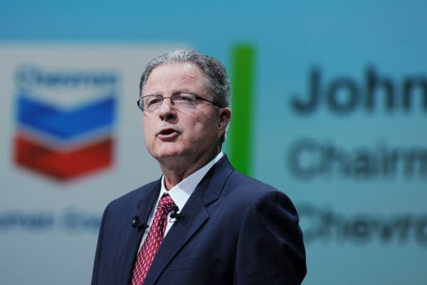 Chevron Chairman and CEO John Watson