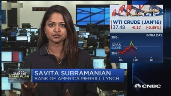 Value bounces back in 2016: BofA's Subramanian