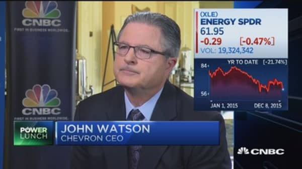 Chevron CEO: Our dividend is 'our number one priority'