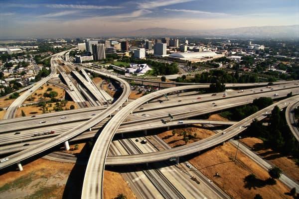 Aerial View of San Jose, California