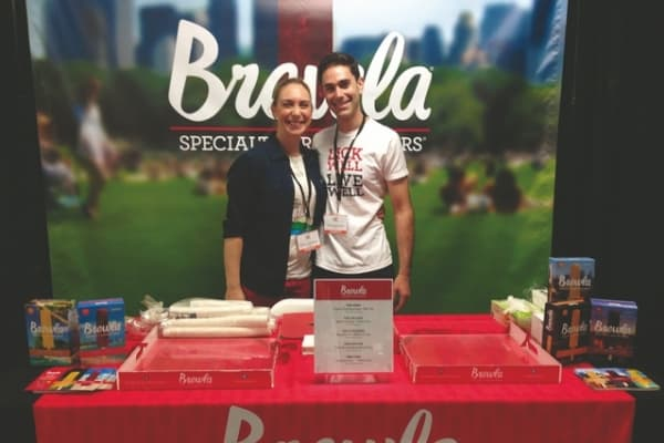 Siblings Rebecca and Daniel Dengrove of Brewla Bars turned to family and friends to help start their business.