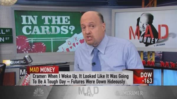 Cramer: Tough day, but don't give up