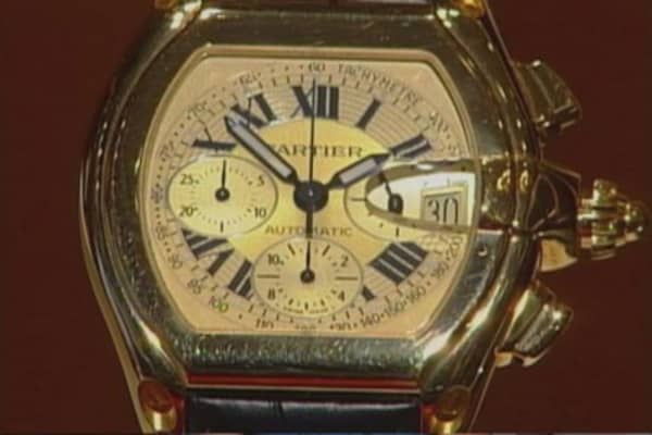 Cartier watches lose their sparkle